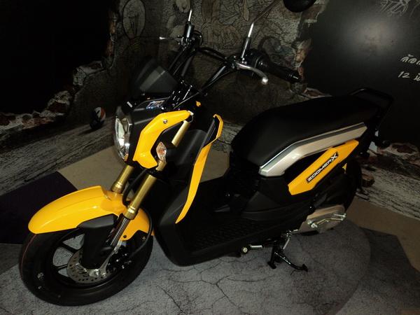 รีวิวทดสอบ Honda Zoomer X