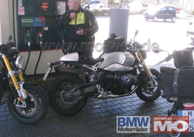 BMW NineT Spyshot