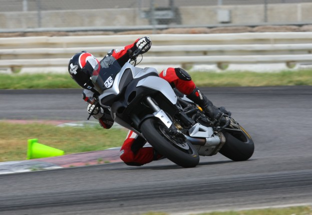 Ducati-Multistrada-1200-on-track