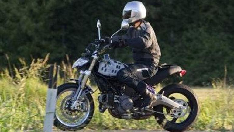 2014 Ducati Scrambler Spyshot