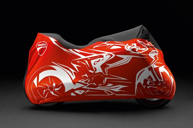 Ducati 1199 Panigale under cover
