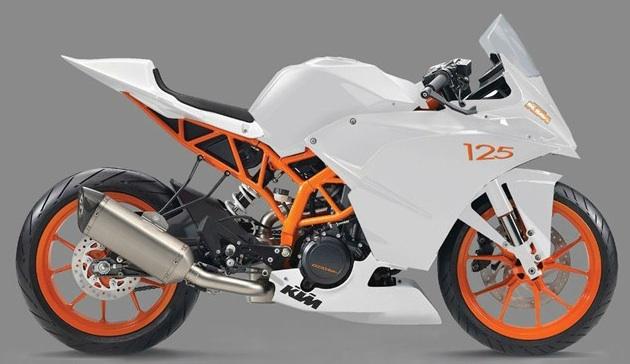 KTM Duke RC125