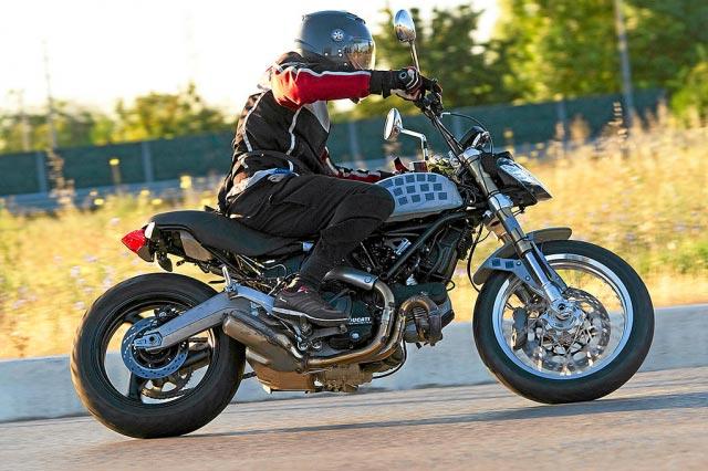 Ducati Scrambler Spy Shot