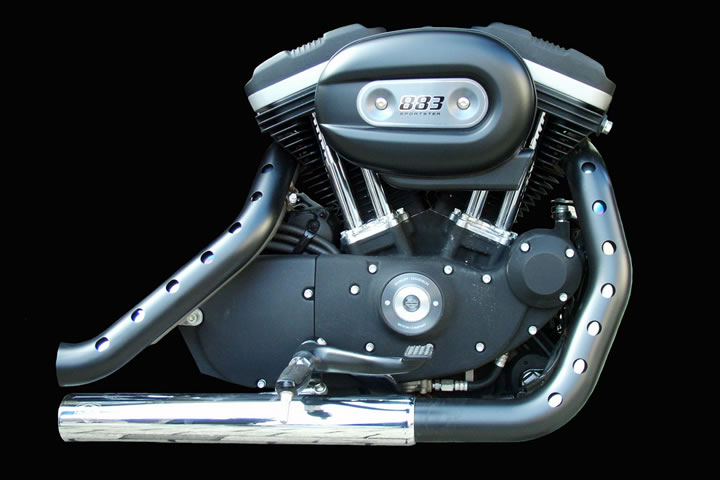Harley-Davidson-Sportster-Iron-Evolution-Engine