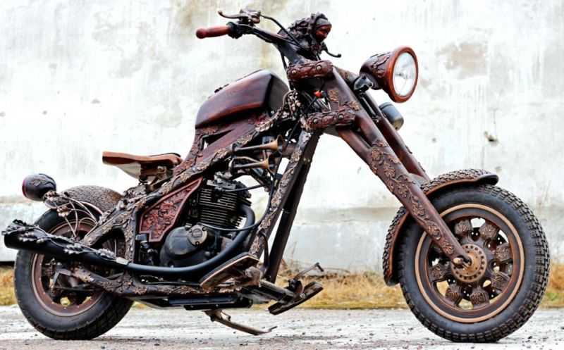 wooden-motorcycle