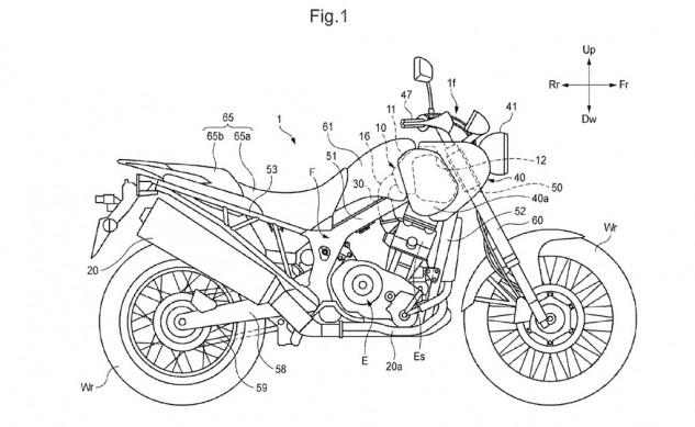 Honda-scrambler-patent-1
