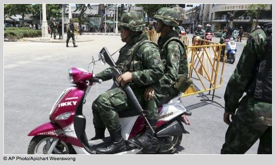 Thai-millitary-motorcycle