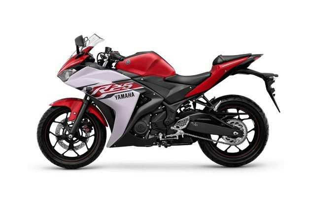 Yamaha-YZF-R25-red