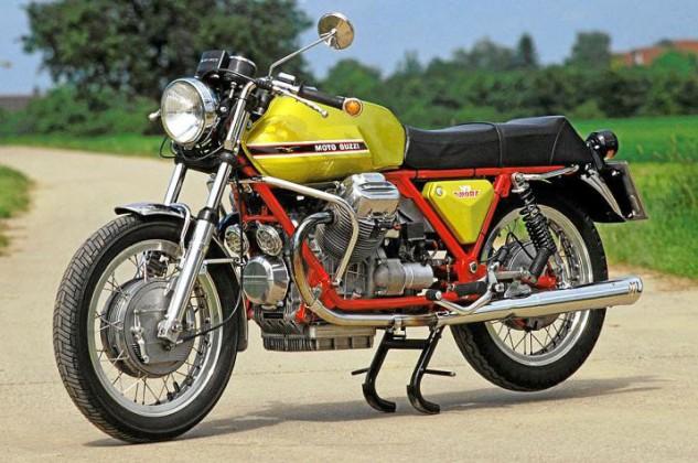 1971-Moto-Guzzi-V7-Sport-Telaio-Rosso